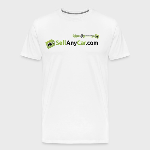 SellAnyCar.com original Logo - Men's Premium T-Shirt