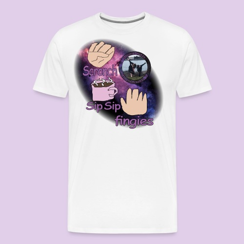 three meme doublesneeze - Men's Premium T-Shirt
