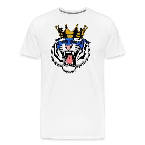 Jackson State Tiger Crown - Men's Premium T-Shirt