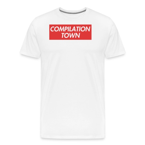 Compilation Town Supreme Parody Merch - Men's Premium T-Shirt