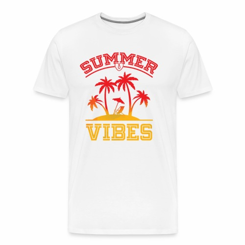 Summer Vibes - Men's Premium T-Shirt