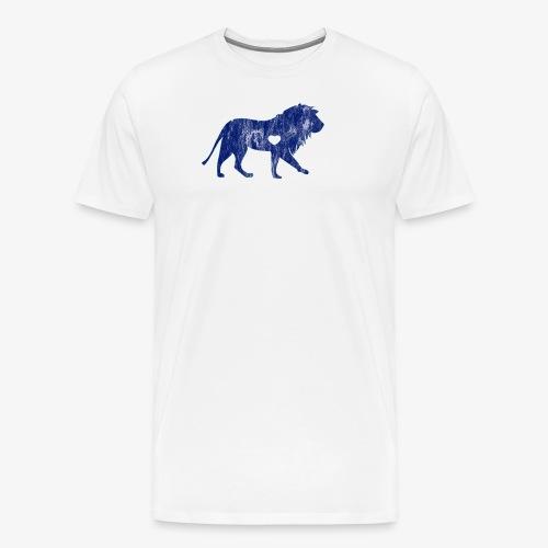 Lion Lion Lover Big Cat Sports Team Mascots I - Men's Premium T-Shirt