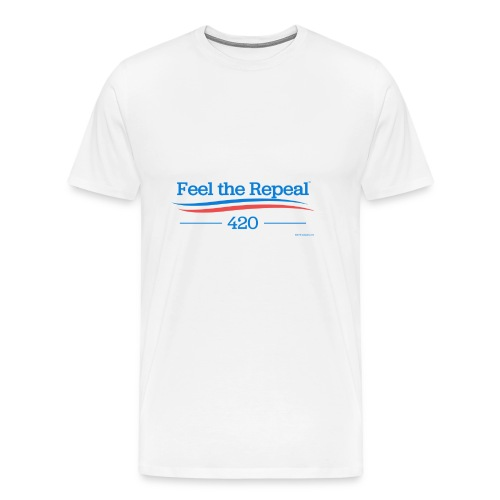 feel-the-repeal - Men's Premium T-Shirt