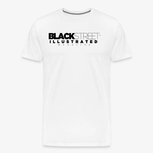 BlackStreet Illustrated - Black Print - Men's Premium T-Shirt