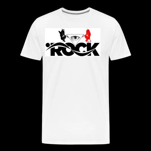 Eye Rock Devil Design - Men's Premium T-Shirt