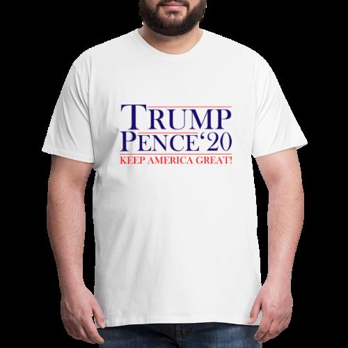 Classic Trump Pence 2020 - Men's Premium T-Shirt