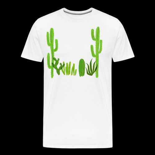 cacti shirt - Men's Premium T-Shirt