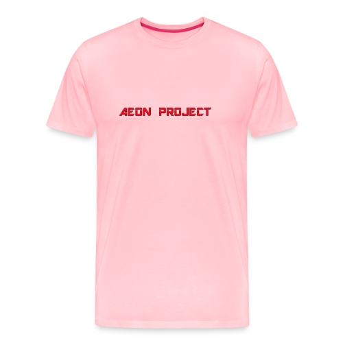 Aeon red and black final2 png - Men's Premium T-Shirt