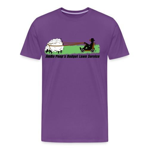 JimBo Peep's Budget Lawn Service - Men's Premium T-Shirt