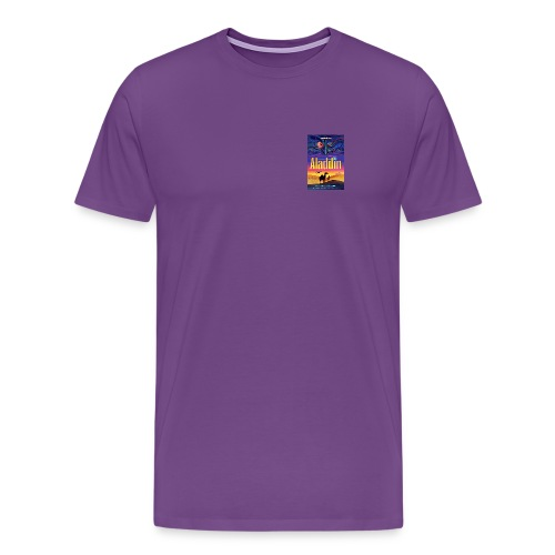 aladdin poster shirt - Men's Premium T-Shirt
