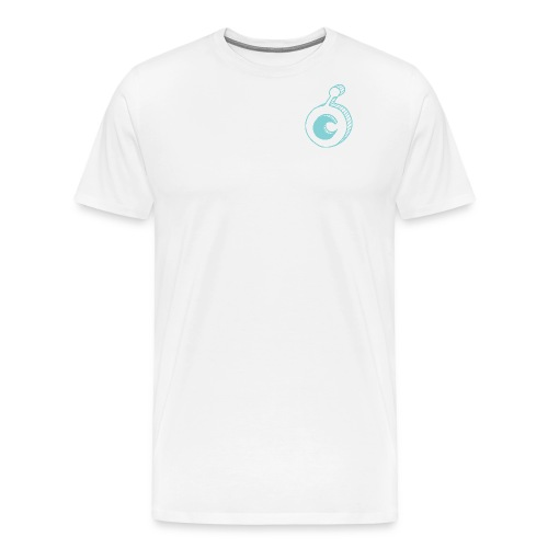 ost logo drawing - Men's Premium T-Shirt