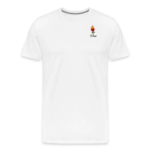 Fuaygo flaming rose logo - Men's Premium T-Shirt