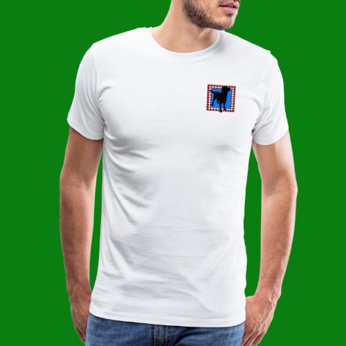 Men's Premium T-Shirt - dog,cute,Labrador