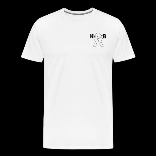 KickNtheBalls Logo 1 - Men's Premium T-Shirt