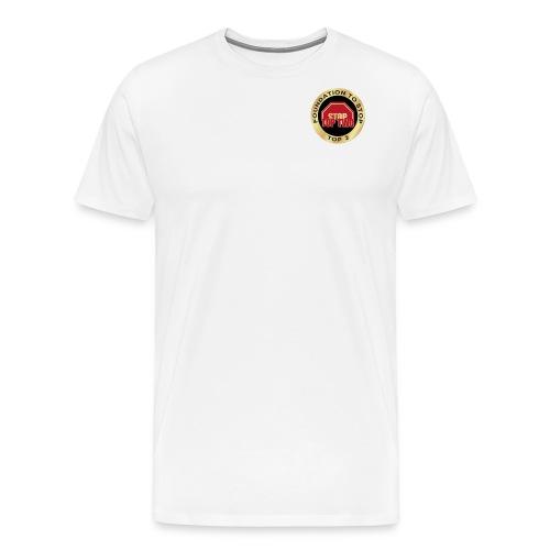 Foundation to Stop Top 2 - Men's Premium T-Shirt