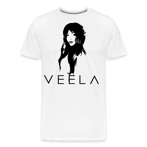 Veela Women's Scoop Lavender Ink - Men's Premium T-Shirt