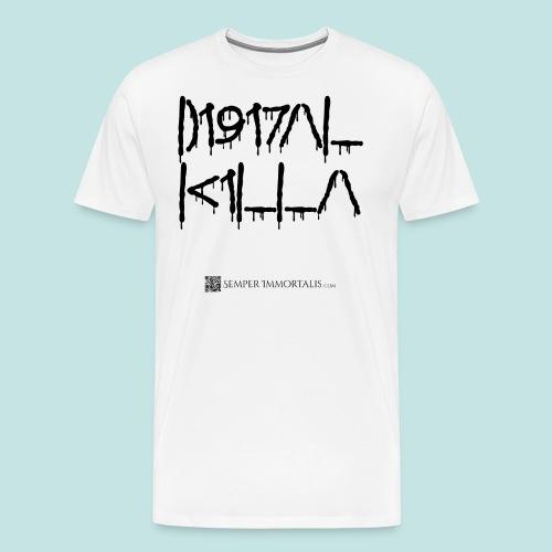 Digital Killa (black) - Men's Premium T-Shirt
