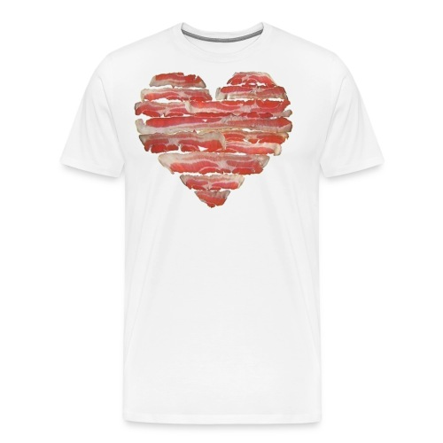 BACON = LOVE - Men's Premium T-Shirt
