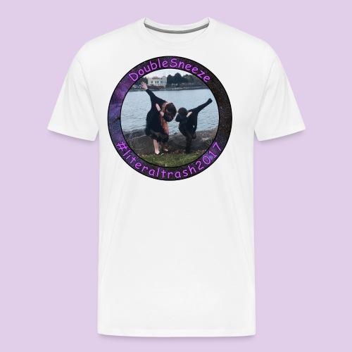 Doublesneeze #literaltrash2017 - Men's Premium T-Shirt