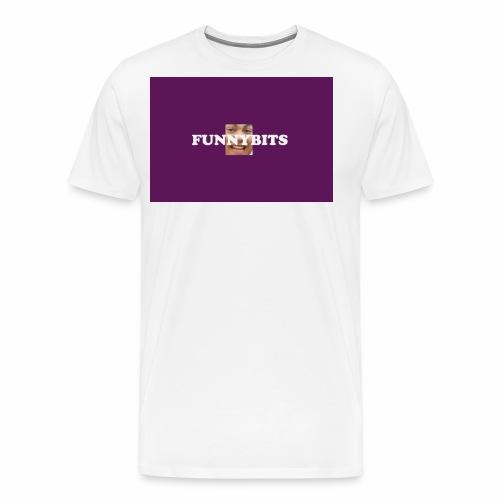 funny bits t - Men's Premium T-Shirt