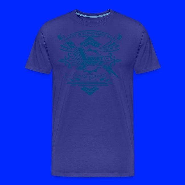 Vintage Leet Sauce Studios Crest Blue