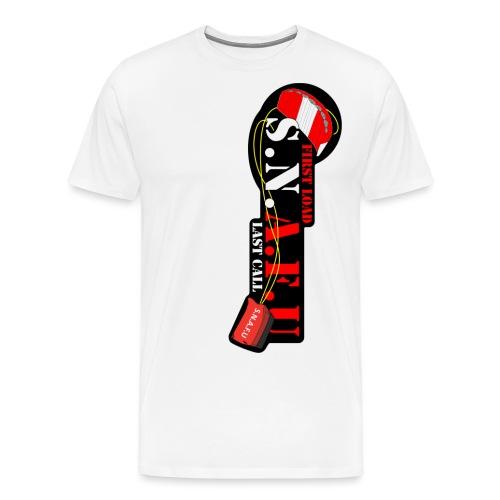 Snafucutout png - Men's Premium T-Shirt