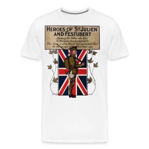 Canadian Heroes of WW1 - Men's Premium T-Shirt