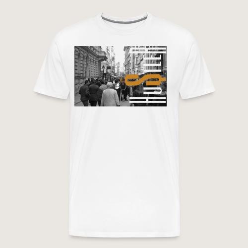City of Hustle - Men's Premium T-Shirt