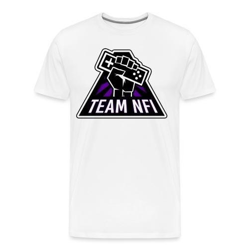 team nfi spreadshirt png - Men's Premium T-Shirt