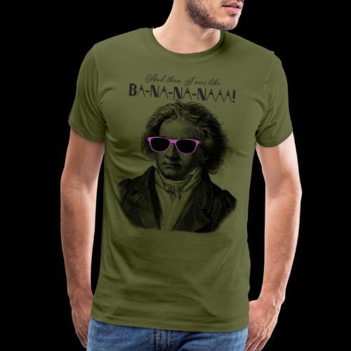 Ba-na-na-naaa! | Classical Music Rockstar - Men's Premium T-Shirt
