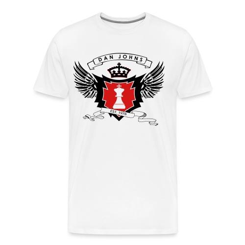 danjohnsawlogo - Men's Premium T-Shirt