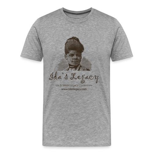 Ida's Legacy One Color Art - Men's Premium T-Shirt