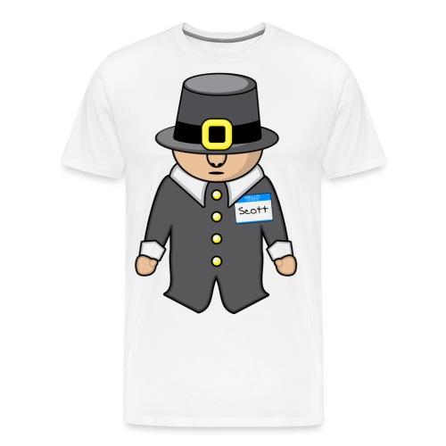 scottthepilgrim2 - Men's Premium T-Shirt