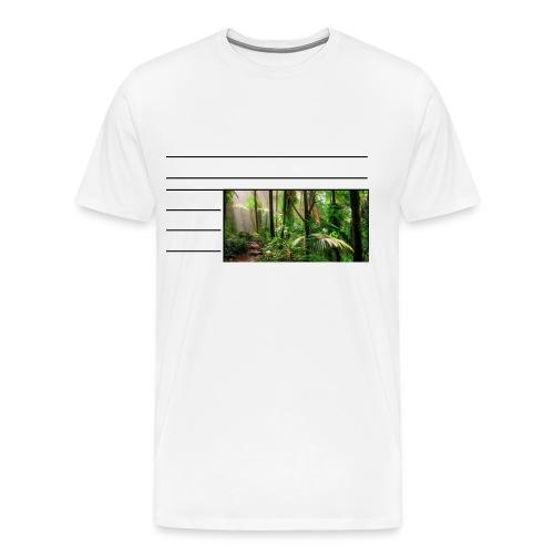 rainforest - Men's Premium T-Shirt