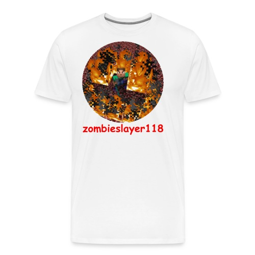 zombieslayer118 merch - Men's Premium T-Shirt