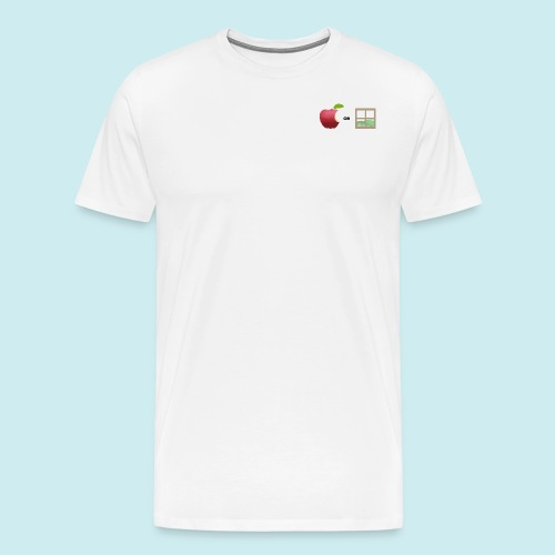 Apple or windows? - Men's Premium T-Shirt