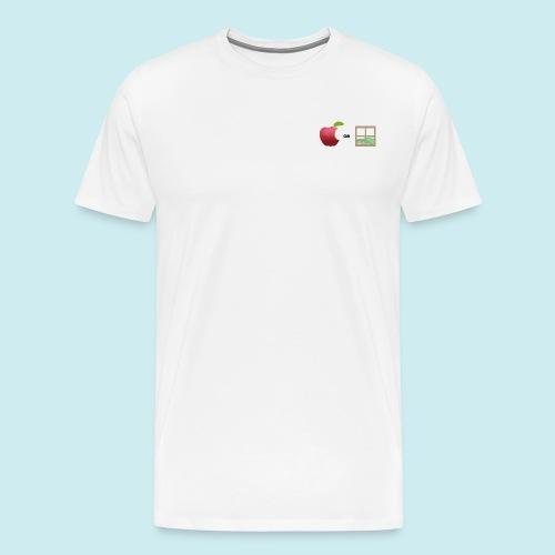 Apple or windows? - Men's Premium T-Shirt