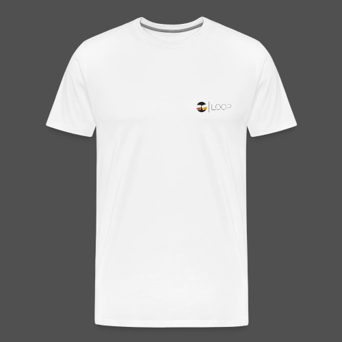LOOP Original Logo - Men's Premium T-Shirt