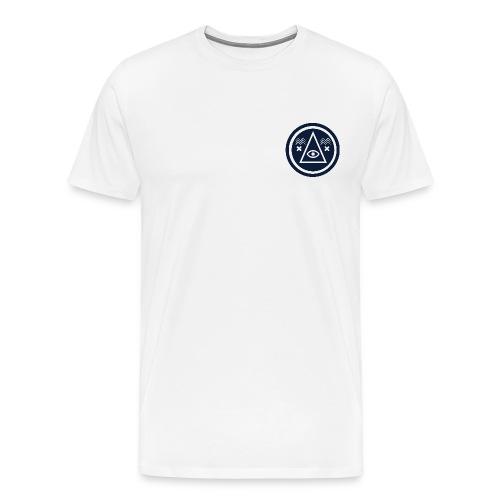 Round Illuminati Symbol - Men's Premium T-Shirt