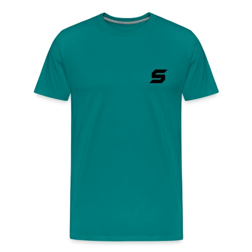 A s to rep my logo - Men's Premium T-Shirt
