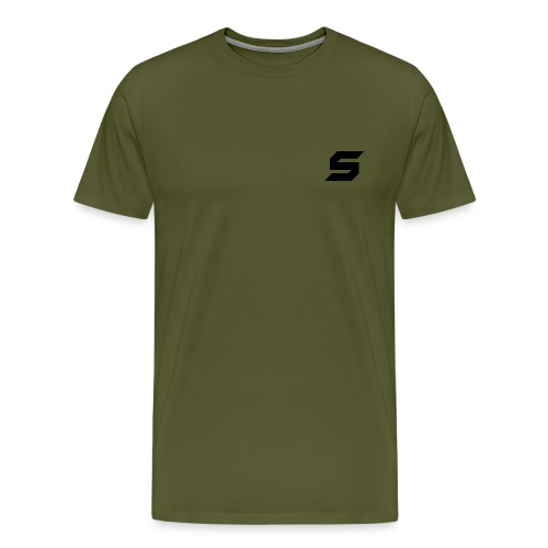 A s to rep my logo - Men's Premium T-Shirt