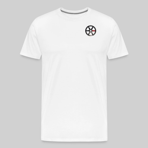 TE37 Wheel - Men's Premium T-Shirt