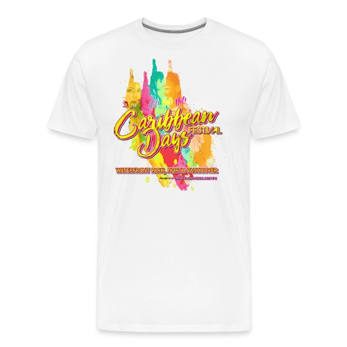 Caribbean Days Festival = Hot! Hot! Hot! - Men's Premium T-Shirt