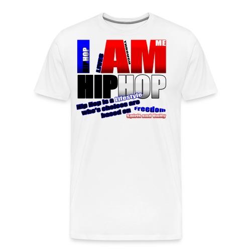 blueredhiphoptee - Men's Premium T-Shirt