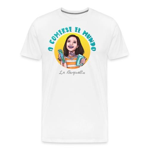 Comerse el mundo - La Cooquette - Men's Premium T-Shirt