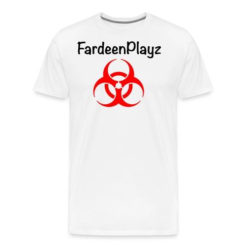 FardeenPlayz At Top W/ Logo - Men's Premium T-Shirt
