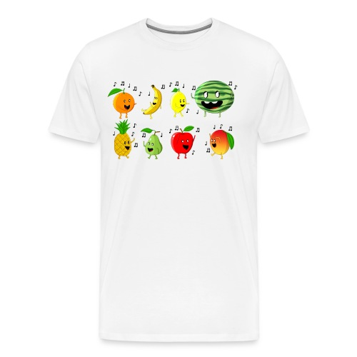 Dancing Fruit Party - Men's Premium T-Shirt