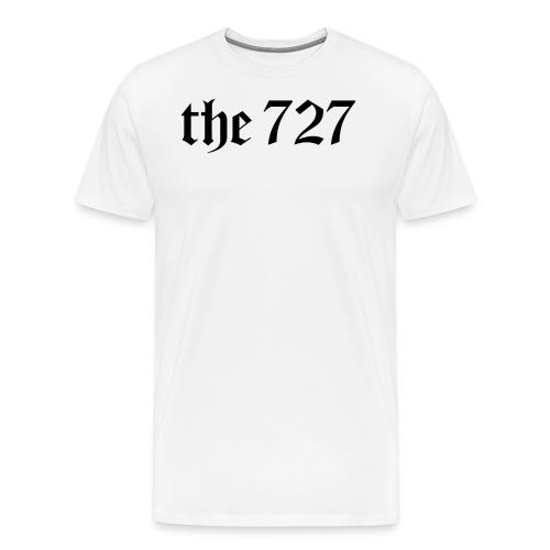 The 727 in Black Lettering - Men's Premium T-Shirt