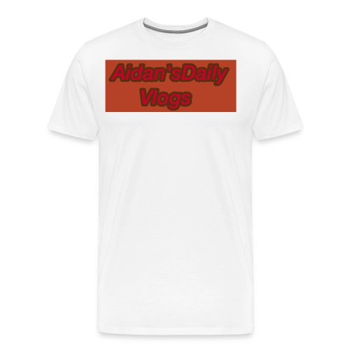 Aidan'sDailyVlogs Tshirts style#2 - Men's Premium T-Shirt
