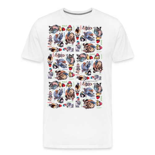 PonyCartoons Thelwell Cartoon - Men's Premium T-Shirt
